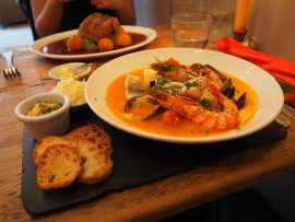 Dinner at Chez Elles Bistroquet, London - Review ★★★★★
