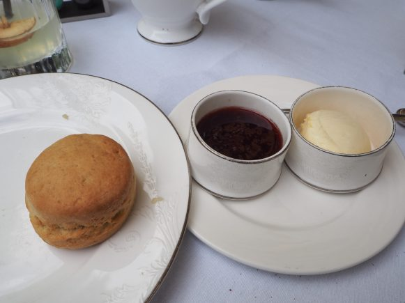 Scones - Montague on the Gardens Hotel London