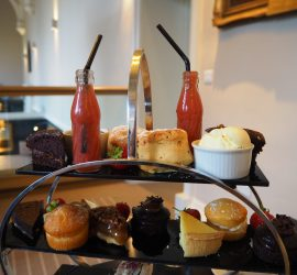 Afternoon Tea at Binswood Hall, Leamington Spa – Review ★★★★☆