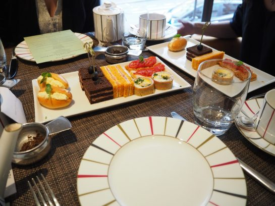 Savouries (Served in the Indigo Restaurant) - Charlie & The Chocolate Factory Afternoon Tea