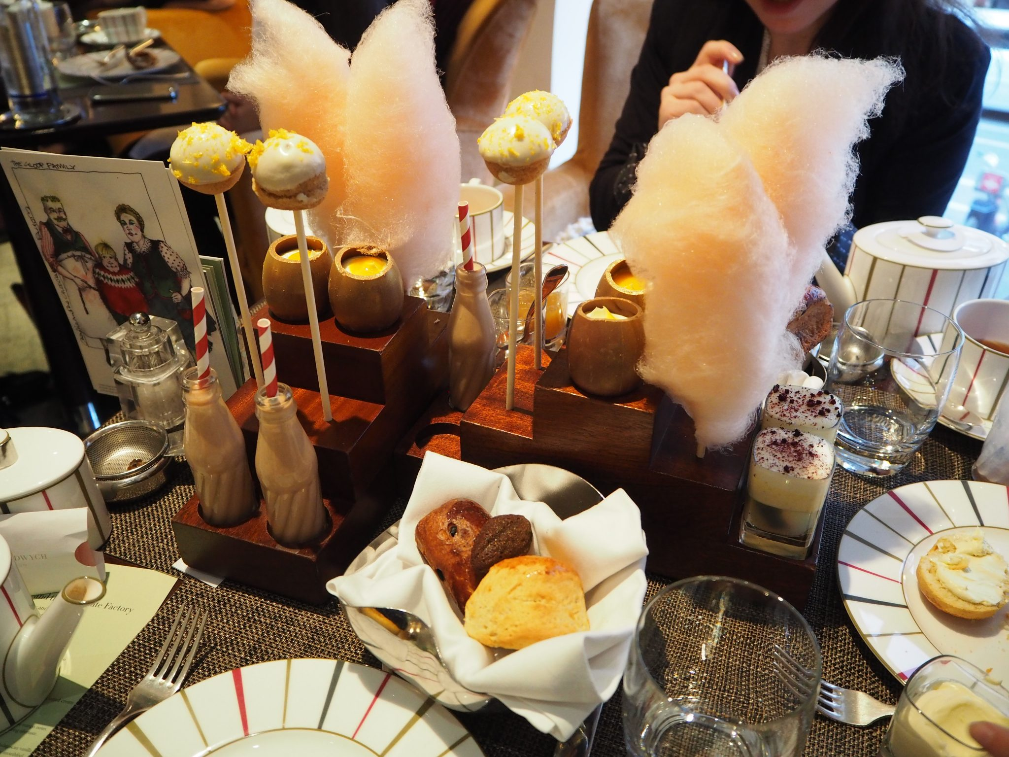 The Sweets - Charlie & The Chocolate Factory Afternoon Tea