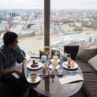 Shangri-La at the Shard - Atternoon Tea
