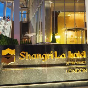 The Shangri-La at The Shard, London