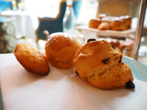 The Westbury Hotel Dublin - NCAD Fashion Afternoon Tea Scones & Madeleines
