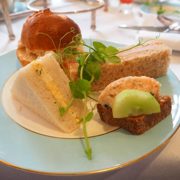 The Westbury Hotel Dublin - NCAD Fashion Afternoon Tea Savouries