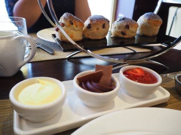 Chocoholic Afternoon Tea at The Hilton Park Lane - Scones
