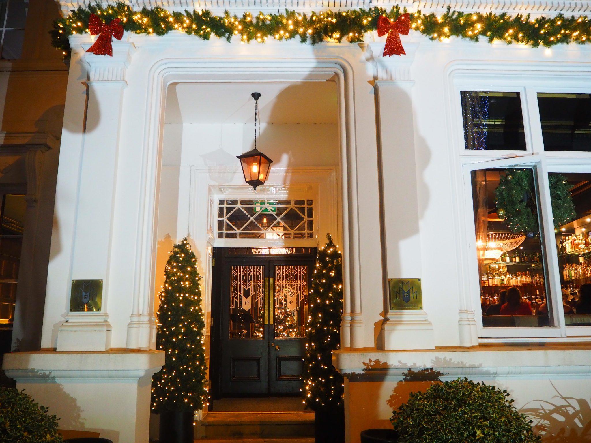 The Edgbaston Boutique Hotel - Front Door