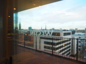 View of HafenCity from The Westin Hamburg
