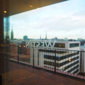 View of HafenCity from The Westin Hamburg
