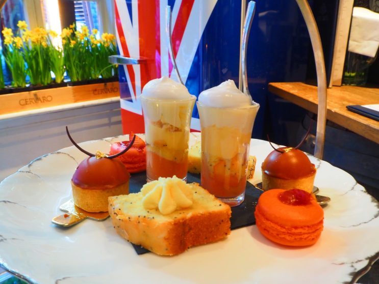 Spring Afternoon Tea Mews of Mayfair Restaurant, London