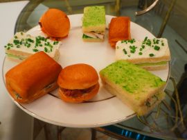 Afternoon Tea / Service de Thé au Ritz-Carlton Montréal – Avis ★★★★☆ (French/Français)
