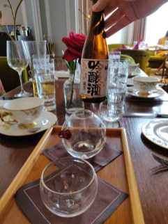 """Dewazakura """"Oka"""" Ginjo (Cherry Bouquet) Delightful, a flowery bouquet with a touch of pear and melon."""