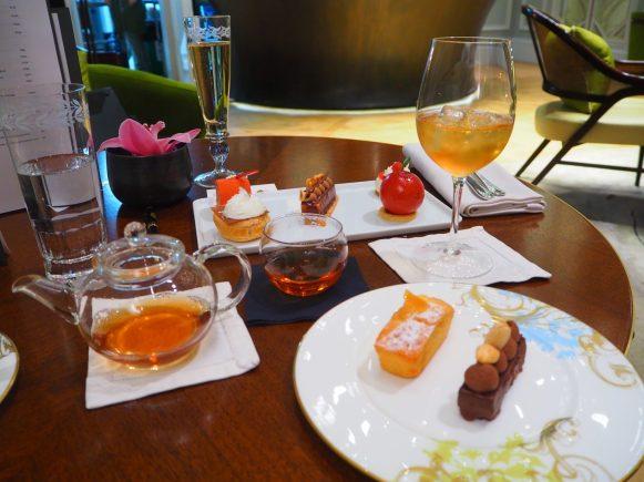 Saké & Teamaster's Afternoon Tea at The Mandarin Oriental London