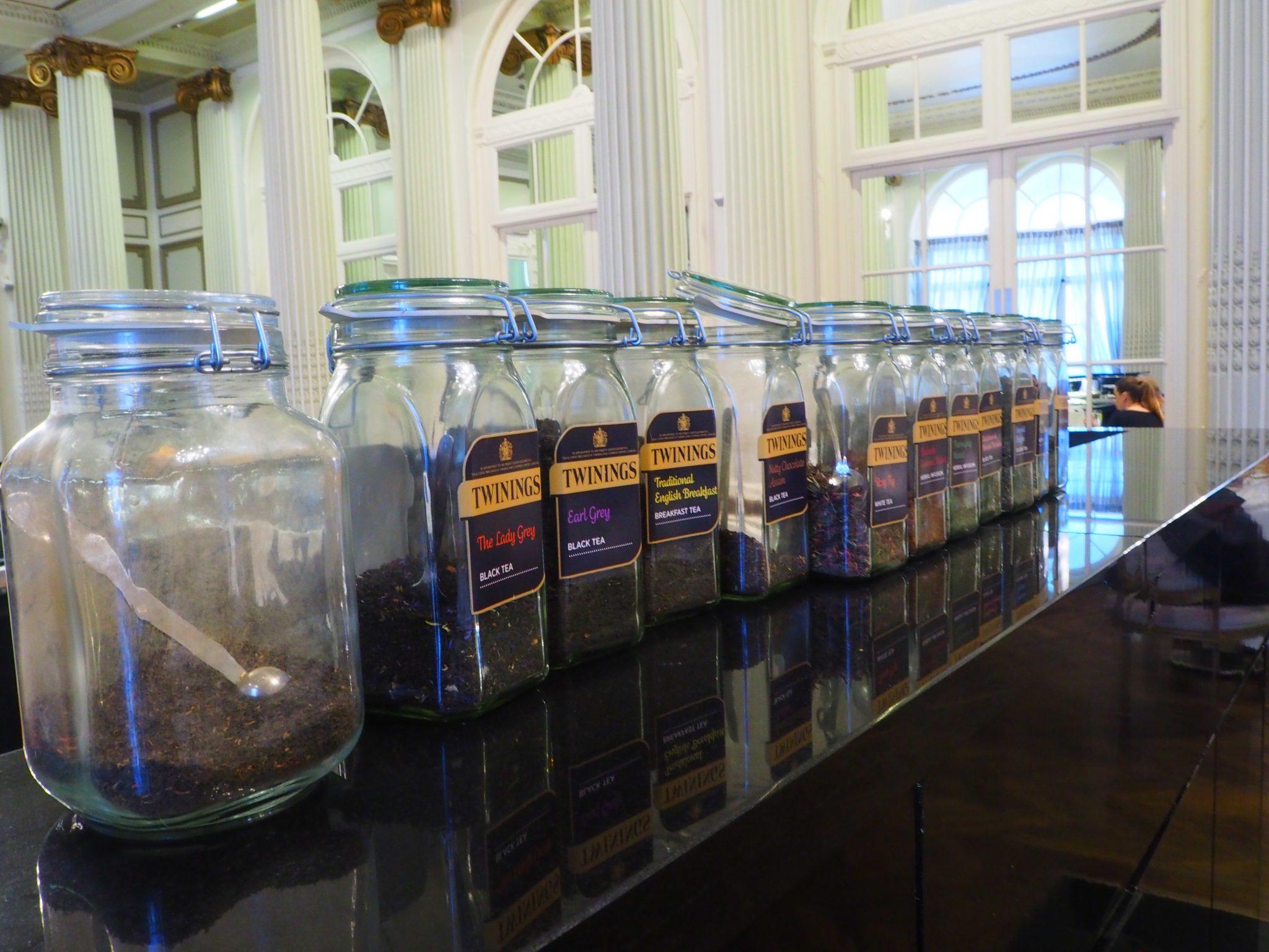 The Twinings Teas - The Waldorf Hilton Hotel London Afternoon Tea