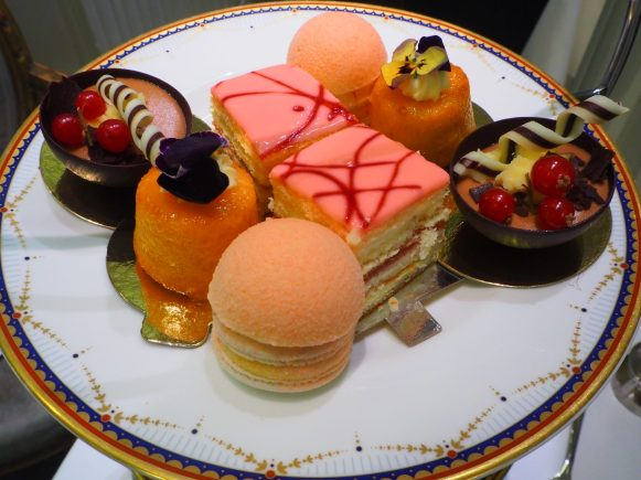 The Cakes & Sweets - The Waldorf Hilton Hotel London Afternoon Tea