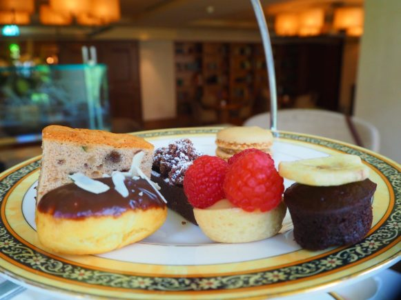 The cakes & sweets - The Park Hyatt Hamburg afternoon tea