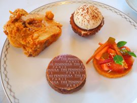 Afternoon Tea at The Peninsula Paris Hotel - Review ★★★★☆ (English/Anglais)