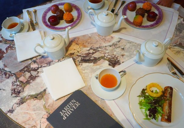 Tea & Savouries / Thé & Salé - Afternoon Tea / Tea Time - Hôtel de Crillon Paris