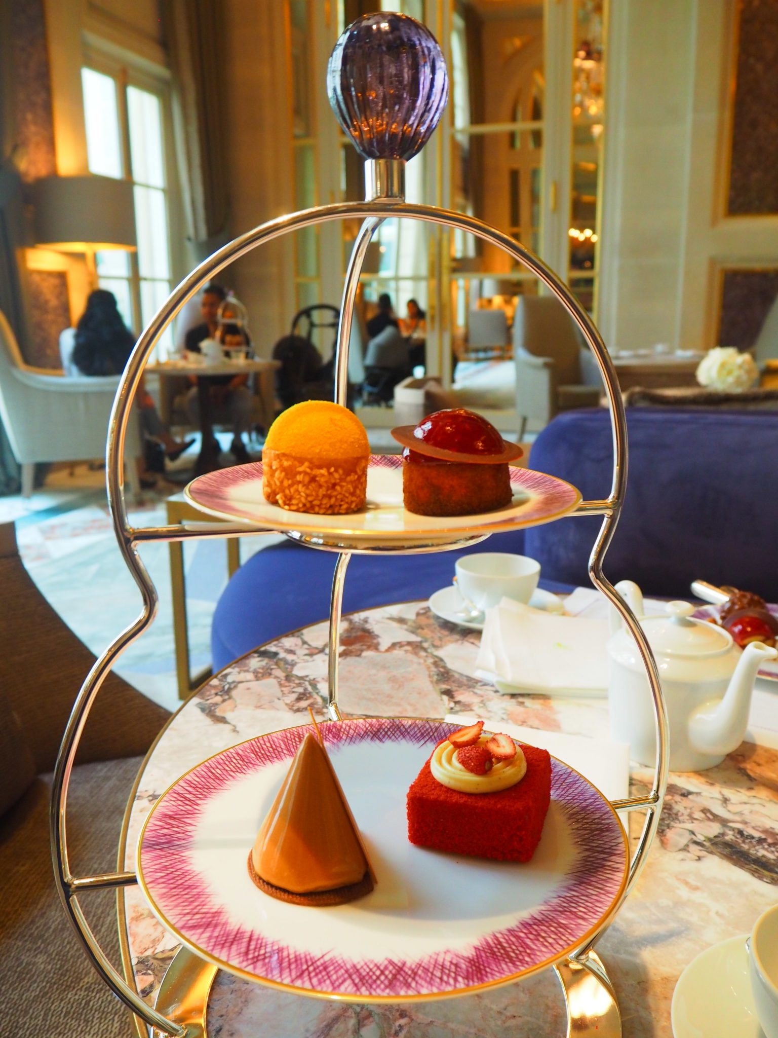 Afternoon Tea / Tea Time - Hôtel de Crillon Paris