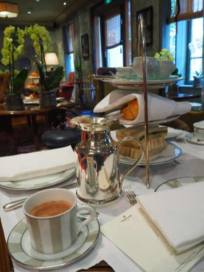 Hot Chocolate - Afternoon Tea / Tea Time Hotel Daniel Paris