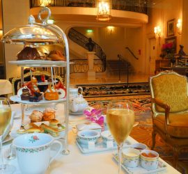 Afternoon Tea at the Four Seasons Hotel George V Paris – Review ★★★★★ (English/Anglais)