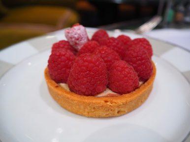 Tartes aux framboises / Raspberry tartlet
