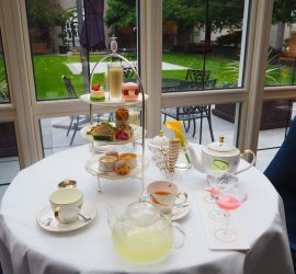 Gin Afternoon Tea at the InterContinental Dublin – Review ★★★★★