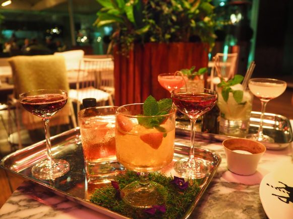 The Cocktails & Mocktails - Mad Hatter's Tipsy Evening Tea at the Sanderson London