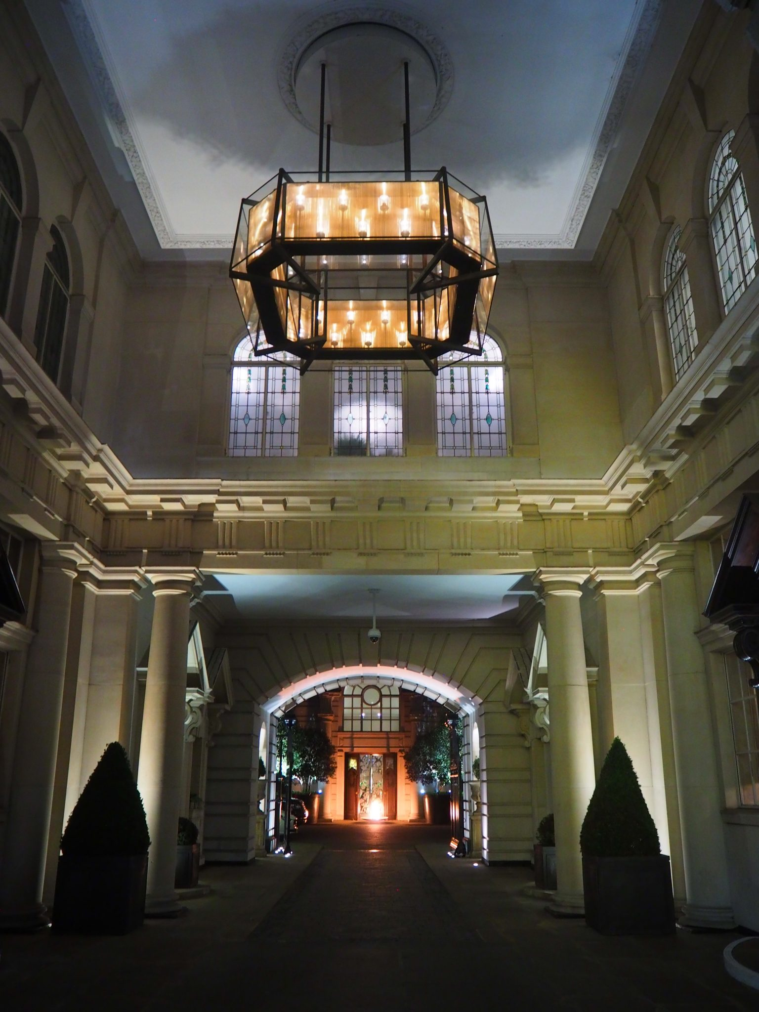 The Rosewood London entrance