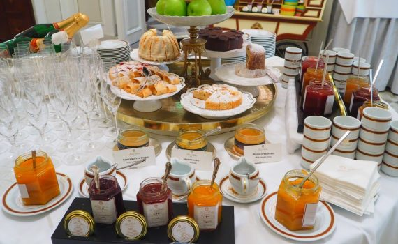 Breakfast at Hotel Sacher Vienna