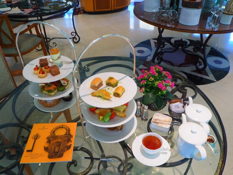 The Four Seasons Istanbul at Sultanahmet Afternoon Teas