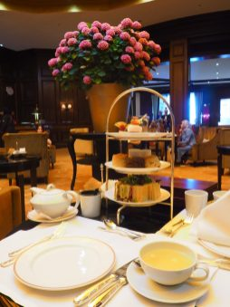Kempinski Munich afternoon tea