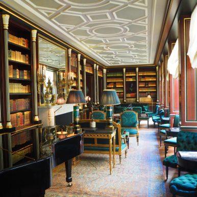 La Réserve Paris Hotel & Spa - Bibliothèque / Library