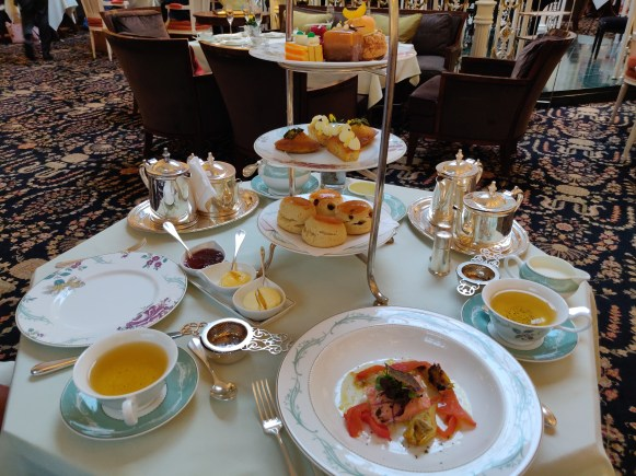 Fairmont Savoy London High Tea and Afternoon Tea