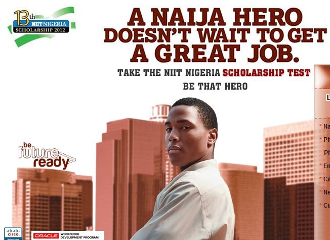 niit nigeria scholarship 2012