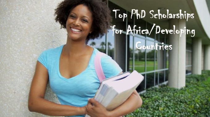 20 Annual PhD Scholarships for Students in Africa/Developing