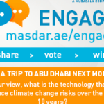 Masdar Engage Global Social Media Competition 2017. Funded to Abu Dhabi
