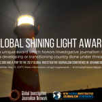 Global Shining Light Award for Journalists from Developing Countries 2017