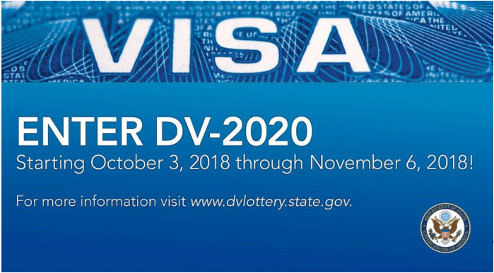 STATE DEPARTMENT VISA LOTTERY