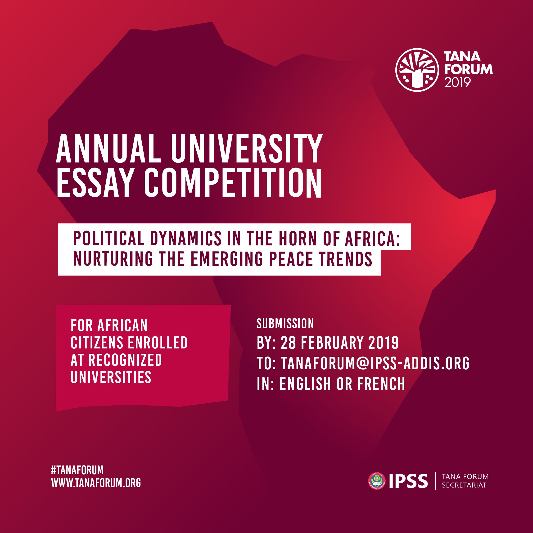 Simple Essays For High School Students Tana Forum University Essay Competition  For African Students  After  School Africa Compare Contrast Essay Papers also Essay For High School Application Tana Forum University Essay Competition  For African Students  Essay Paper Generator