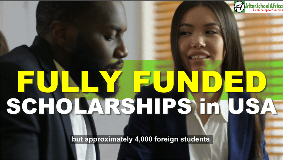 Top 10 Fully Funded Scholarships in USA for International ...