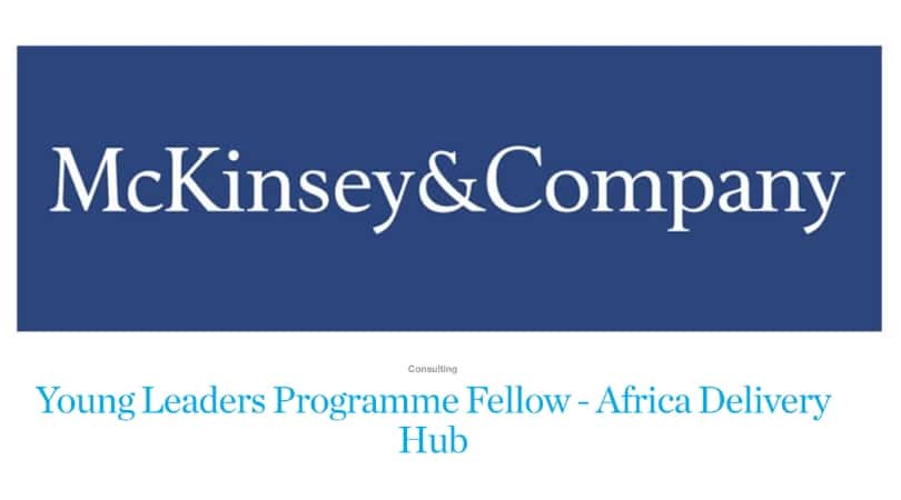 McKinsey&Company Young Leadership Program (YLP) 2021 for Young Africans |  After School Africa