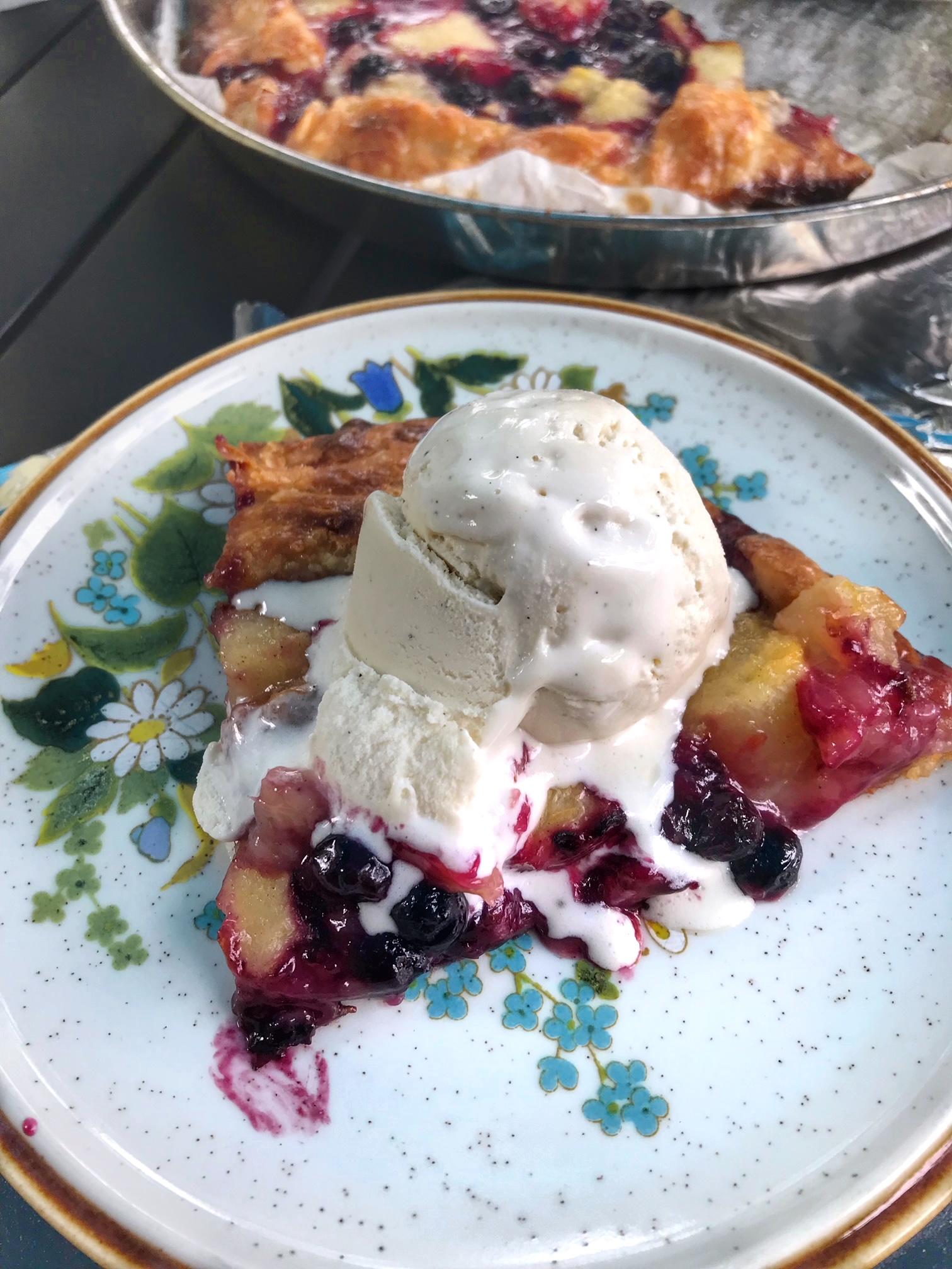 pie and ice-cream recipe