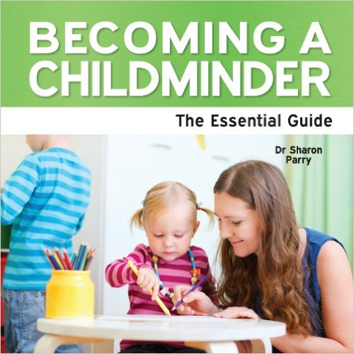 Becoming a childminder book cover