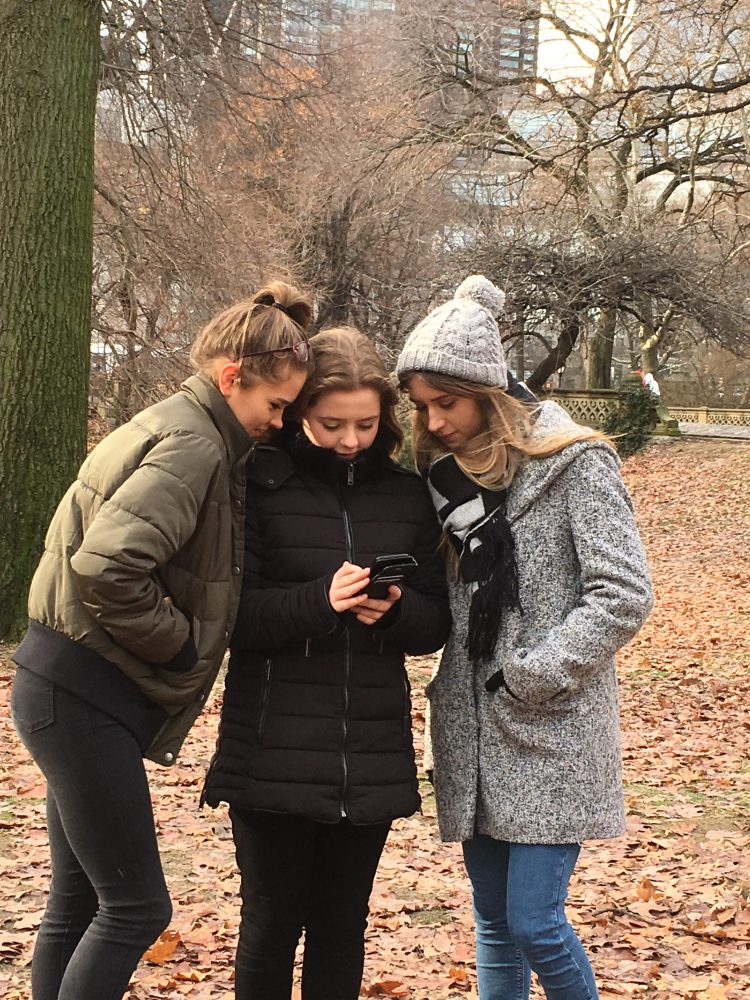 Things to do in New York with teens at Christmas