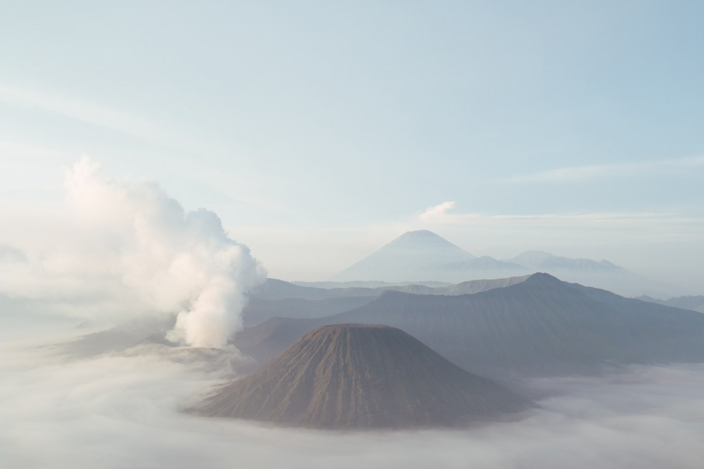 The signature Mount Bromo view