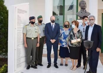 Αποκαλυπτήρια Προτομής του Ήρωα Αναστασίου Π. Ζαρβού και Μνημείου Πεσόντων