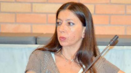 Η κ. Αθηνά Σκαμπά