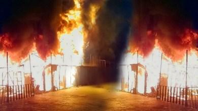 συγκρούσεις και φωτιές στο hot spot της Μόριας