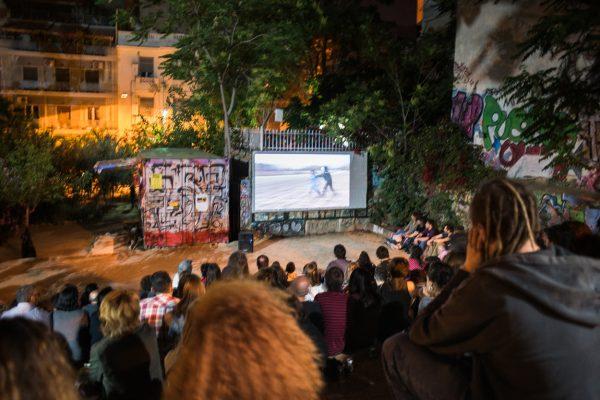 Σινεμά στο αυτοδιαχειριζόμενο Πάρκο Ναυαρίνου